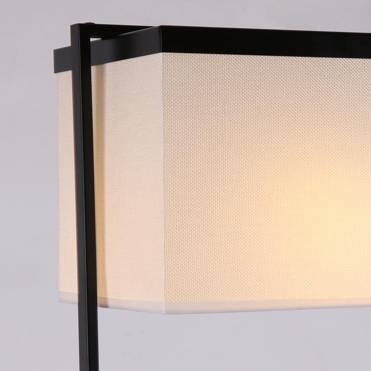 灯饰别墅酒店灯具 LED 新中式落地灯现代简约卧室书房铁艺客厅餐厅