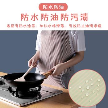可擦手厨房围裙女时尚可爱日系韩版公主家用工作防水防油围布裙子