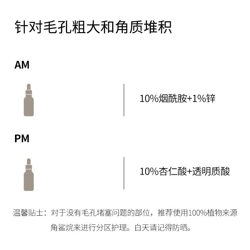 the ordinary10%杏仁酸刷酸果酸精华去角质闭口黑头粉刺收缩毛孔 No.3