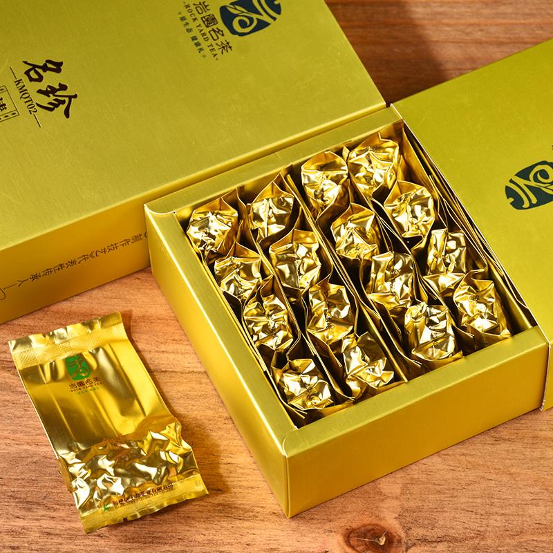 安溪铁观音清香型正味兰花香2021新茶乌龙茶送礼礼盒装茶叶共500g的细节图片2