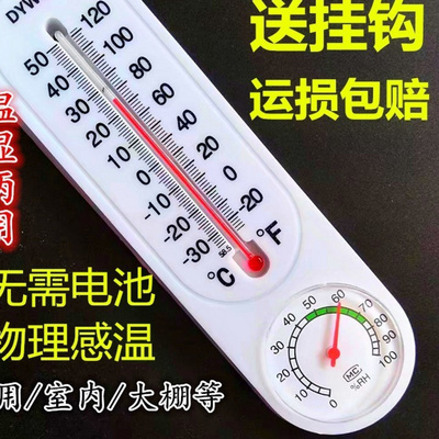 Accurate water temperature household meter humidity bath room high precision thermometer baby baby room baby body temperature temperature