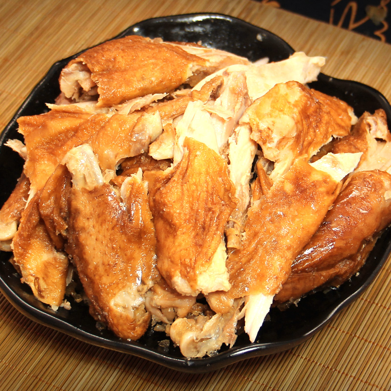 齐鲁祥凤德州五香扒鸡500克年货礼品山东特产烧鸡鸡肉零食熟食