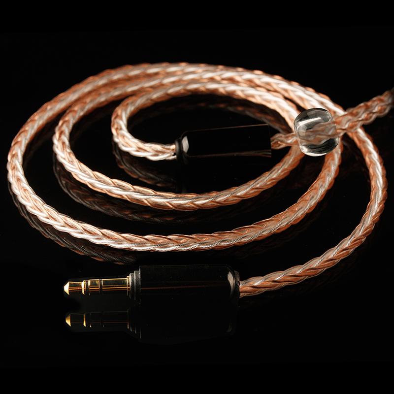 小凡 A8镀银耳机线材mmcx a2dc舒尔se535lsim5070ie80s耳机升级线