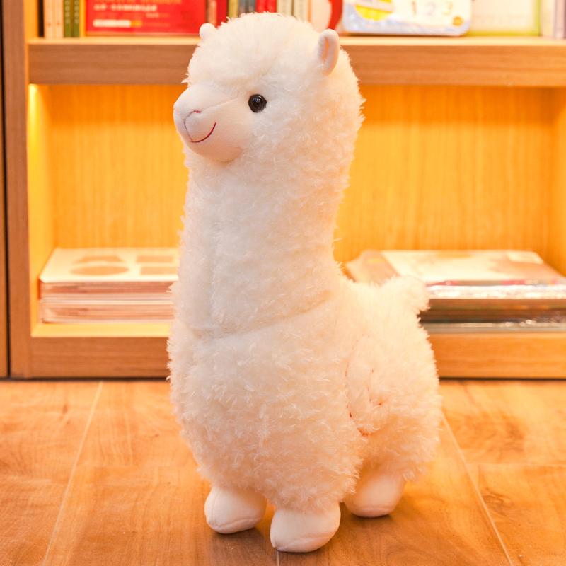 羊驼公仔毛绒玩具抱枕小羊睡觉布娃娃大号玩偶七夕情人节礼物女孩