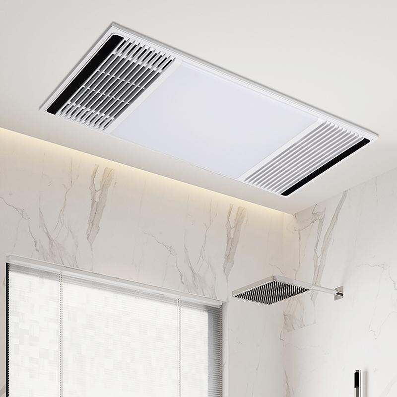 箭牌浴霸灯集成吊顶排气扇照明一体风暖卫生间取暖浴室暖风机浴霸