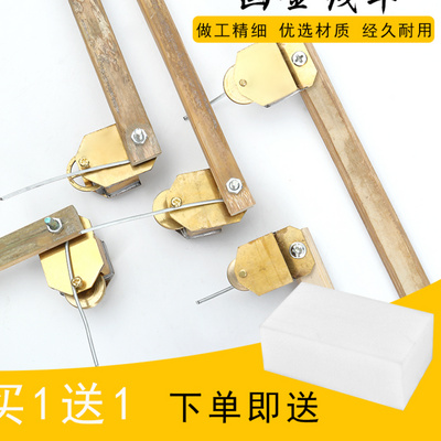 Draw gold line car color line rim gold car size positive eccentric daily craft ceramic line drawing car pen