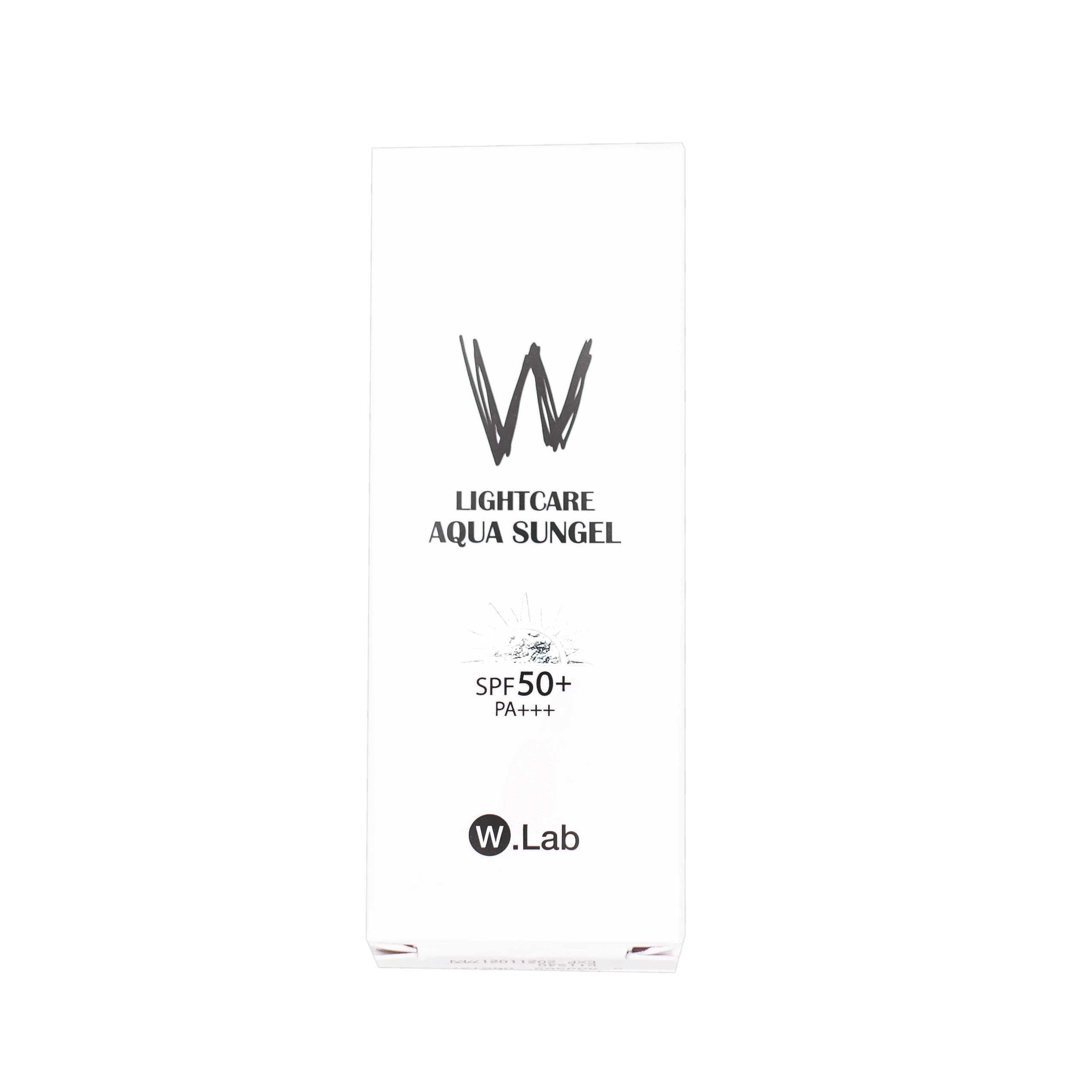 二合一正品学生男女 50 女面部放紫外线 W.Lab 防晒隔离霜 wlab 韩国