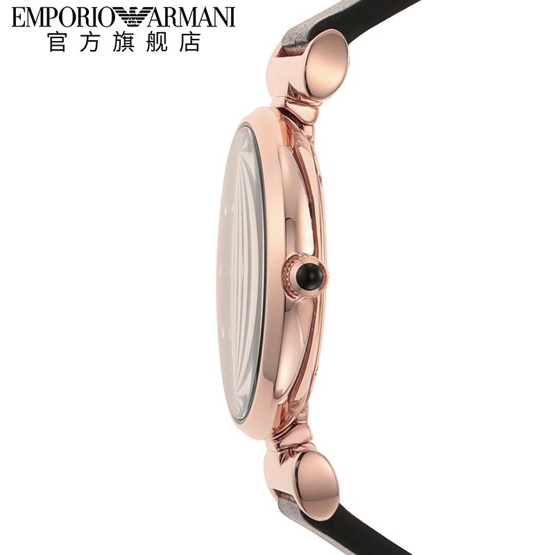 Armani阿玛尼2020新款满天星时尚星空可翻转皮带石英表女 AR11296