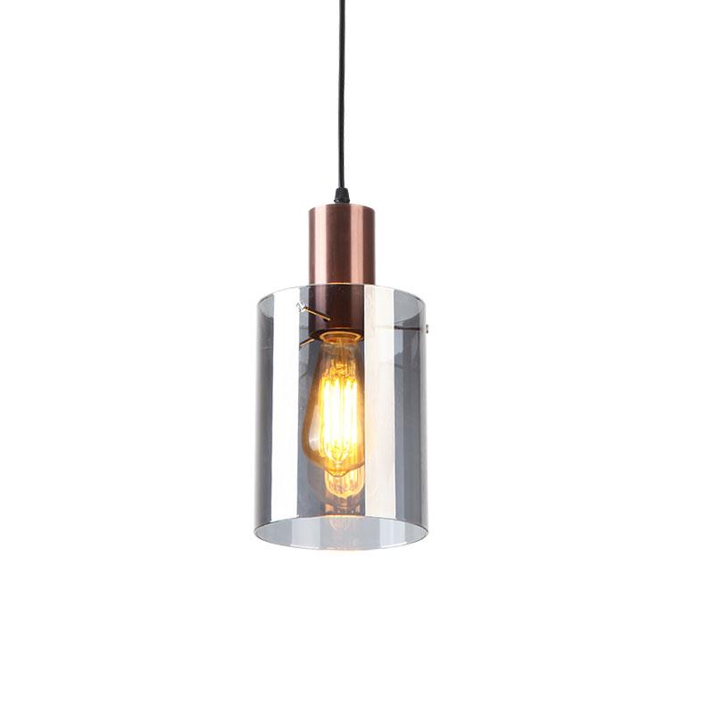 吧台小吊灯北欧单头餐厅玻璃吊灯简约时尚咖啡样板间卧室床头吊灯
