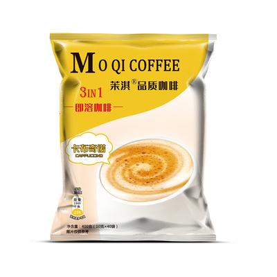 卡布奇诺速溶黑咖啡三合一特浓