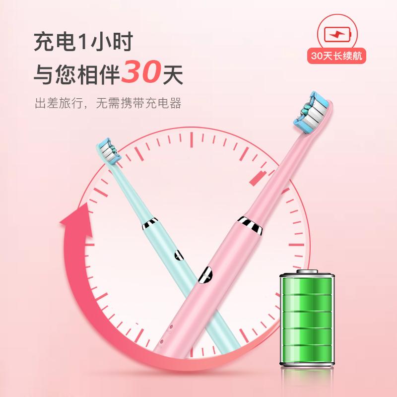 神奇牙刷S2智能电动牙刷成人男士女生充电式全自动声波软毛学生党【图3】