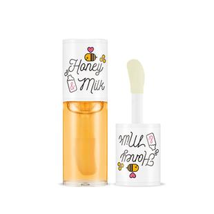 APIEU唇膏牛奶蜂蜜护唇油韩国奥普honeymilk保湿滋润透明润唇油女
