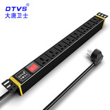 Large Tangwei Shi DT8181 PDU cabinet outlet 16A cabinet dedicated power over eight holes cabinet Strip