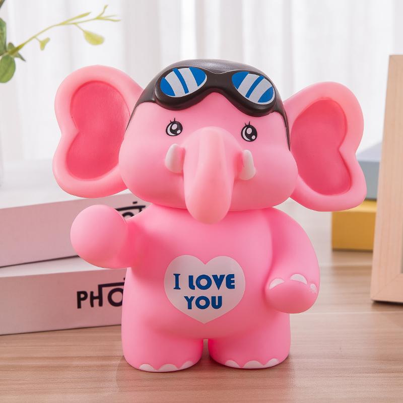 大象存钱罐大号可爱卡通防摔储蓄罐幼儿园实用六一儿童节礼品礼物