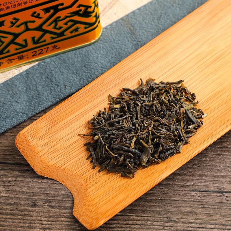 中粮中茶 蝴蝶牌 一级茉莉花茶铁罐装 227g