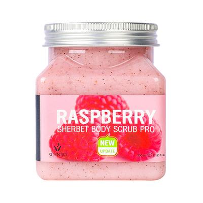 志宣欧尼美丽蓓菲scentio水果海盐身体磨砂膏嫩白去鸡皮角质树莓