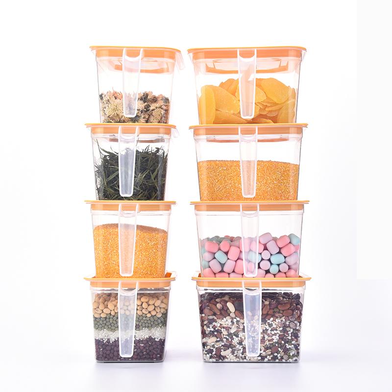 厨房收纳盒密封带盖冰箱食物保鲜盒塑料食品级蔬果杂粮储物抽屉式