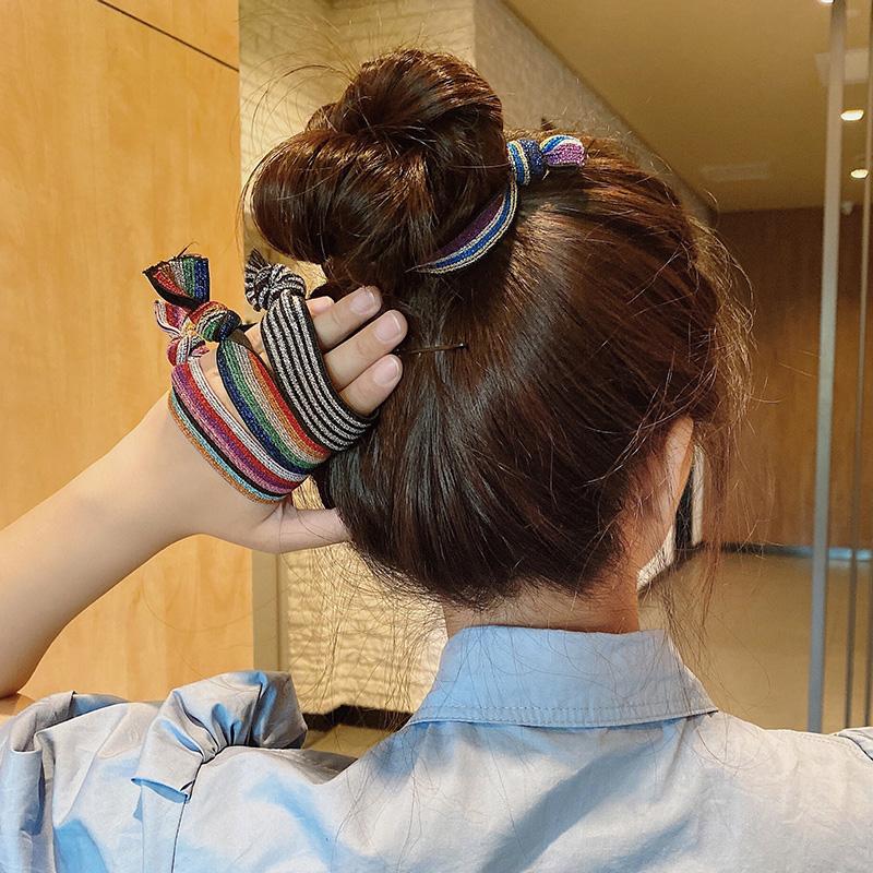 韩国东大门网红ins爆款头绳简约气质女扎头发绑马尾像皮筋粗发绳