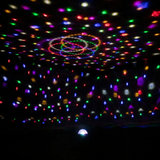 Colorful lights home voice-activated rotating KTV lights flash stage lights bar lights