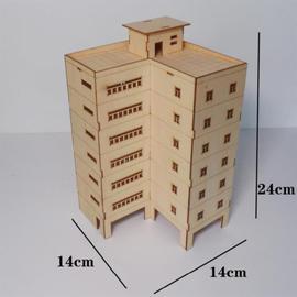 房屋城市楼房模型场景建模沙盘套装别墅建筑材料手工高楼房子室内
