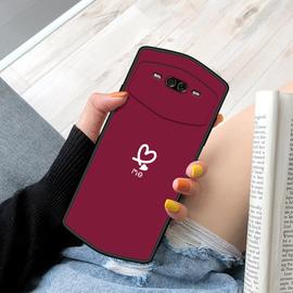 美图V7手机壳新款少女心软硅胶背影女款保护套个性磨砂动漫潮流网红创意卡通简约全包边防摔