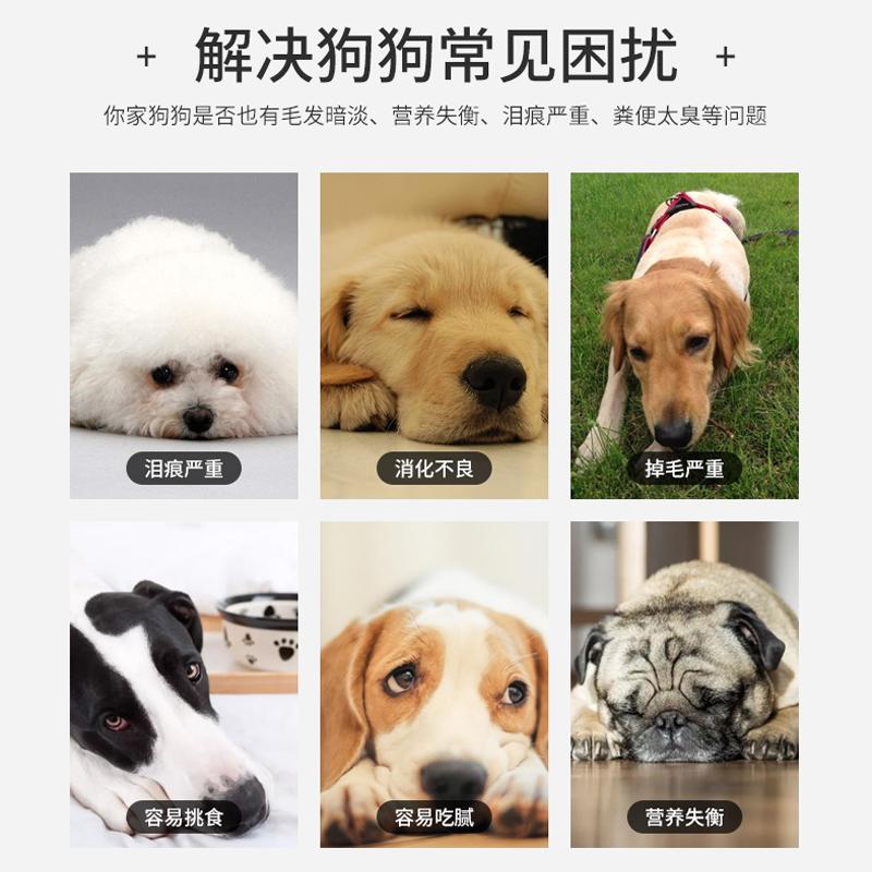 朗士奇 朗狮萨摩耶金毛拉布拉多狗粮小型犬幼犬成犬通用型粮1.5kg优惠券