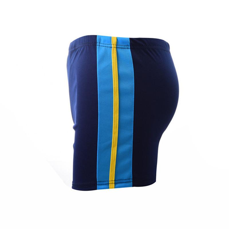 男士平角裤系带运动版男泳衣纯色温泉泳池泳裤大量游泳用品