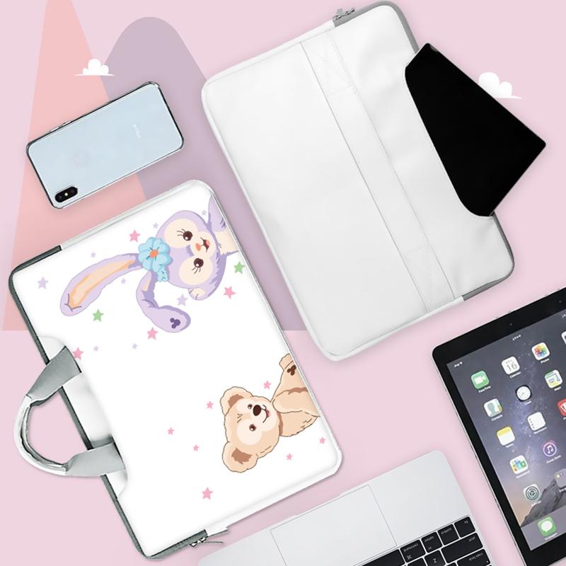 时尚定制笔记本电脑包适用苹果air13华为MATEBOOK14小米air12.5戴尔女手提包内胆包可爱斜挎包男生学生用轻薄