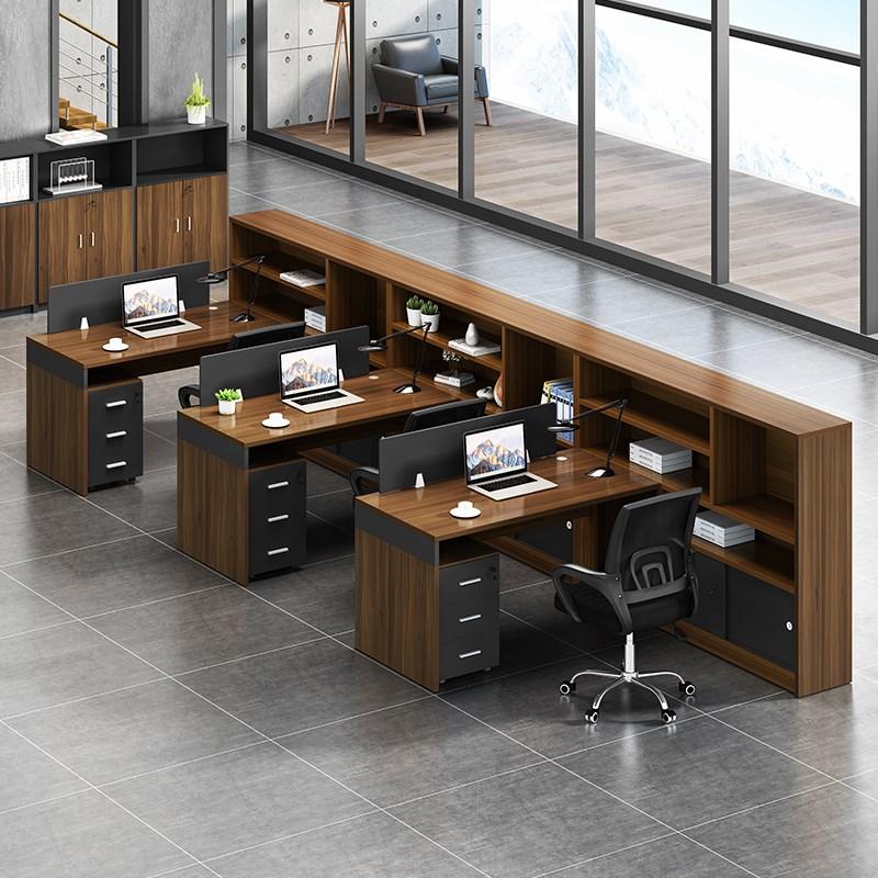 2 单人位财务电脑工桌椅组合屏风卡座 6 4 职员办公桌简约现代员 e