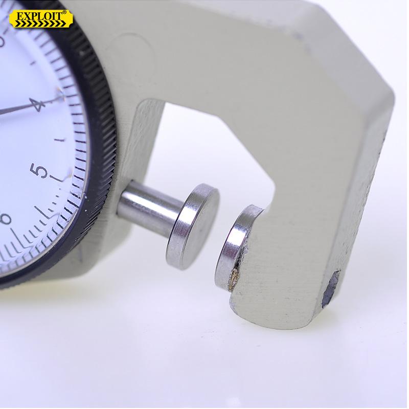 开拓 卡规厚度计厚度仪 指针式测厚仪测厚规 厚度测量仪 220203