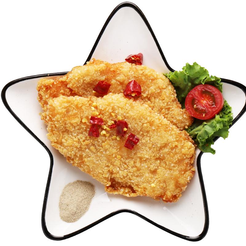 嘉佰农卡兹脆鸡排正新口味炸鸡排冷冻鸡扒半成品油炸小吃裹粉包邮
