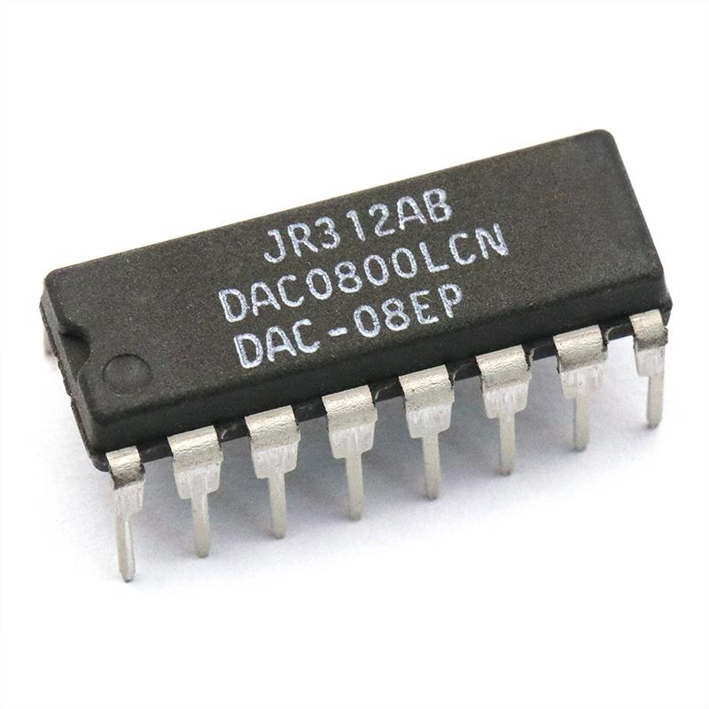 【TELESKY】DAC0800LCN DAC0800 DIP-16 数模转换器 IC 芯片