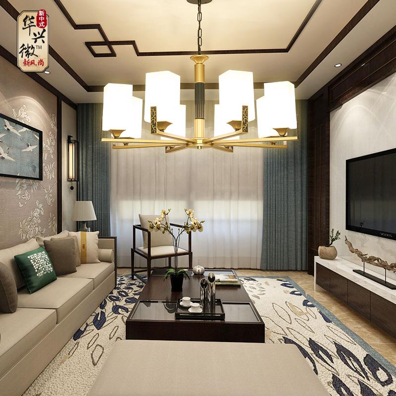 创意餐厅卧室别墅轻奢套餐灯具