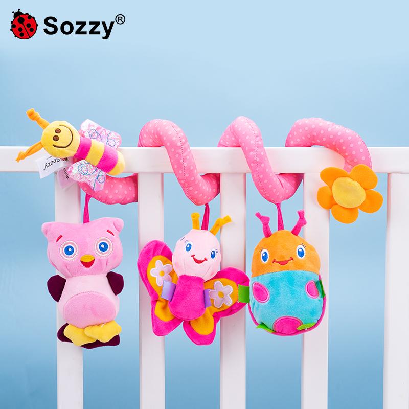 婴儿床摇玲推车吊挂玩具益智音乐床铃