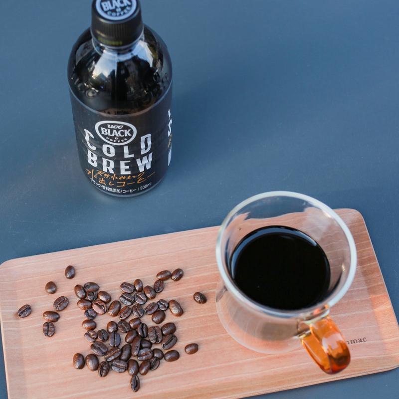 UCC悠诗诗无糖冷萃黑咖啡饮料 6瓶日本进口无糖无脂