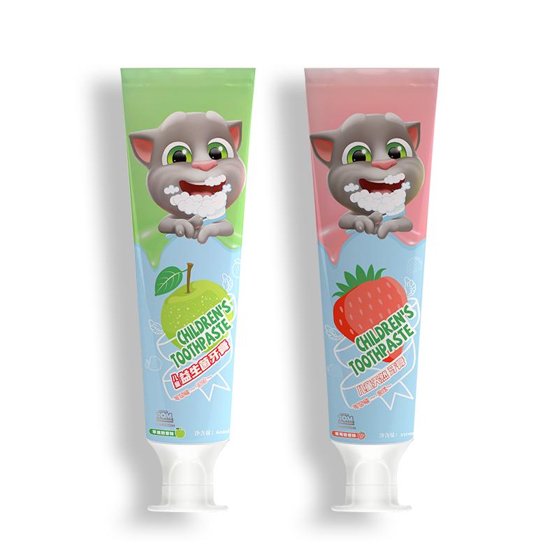 会说话的汤姆猫宝宝防蛀洁牙牙膏