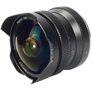 星曜7.5mm F2.8超广角手动定焦鱼眼微单镜头佳能富士尼康索尼卡口