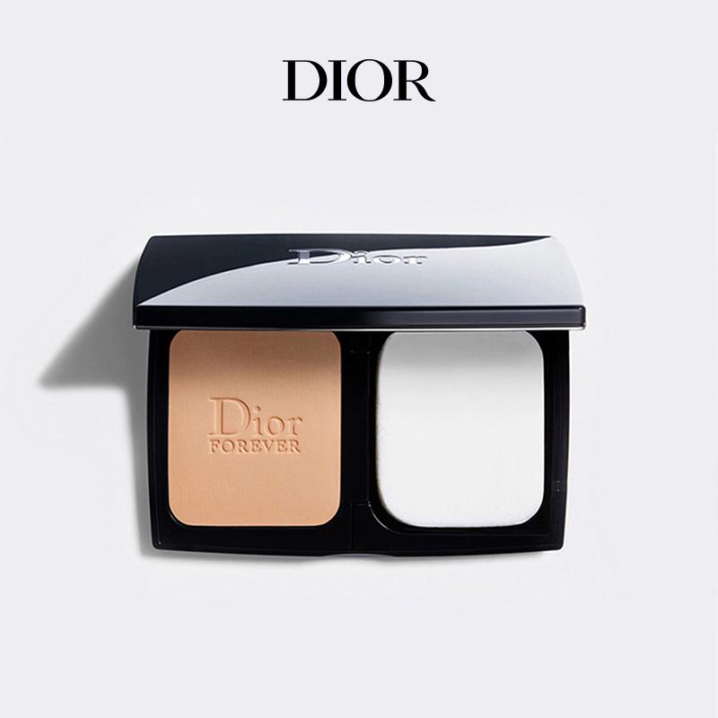 【官方正品】Dior迪奥锁妆粉饼凝脂恒久 遮瑕控油柔雾定妆