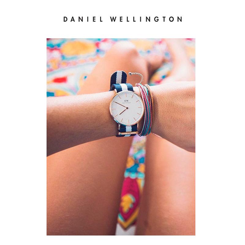 女表女生休闲石英表 36mm 手表女 dw DanielWellington 折秒杀 5