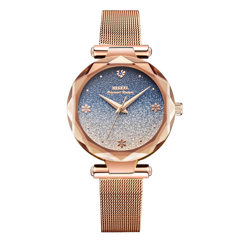 张含韵同款 宾爵石英防水瑞士十大品牌手表女简约气质女表腕表