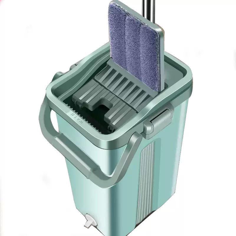 免手洗拖把家用一拖净干湿两用拖布懒人拖