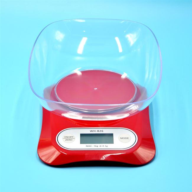 卡通包子馒头面食翻糖厨房电子秤精准金属称面带盆0.1克usb充电款