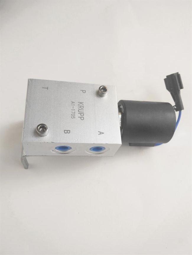 挖掘机破碎锤挖斗互换快速连接器管路控制电磁阀12v和24v线圈单卖