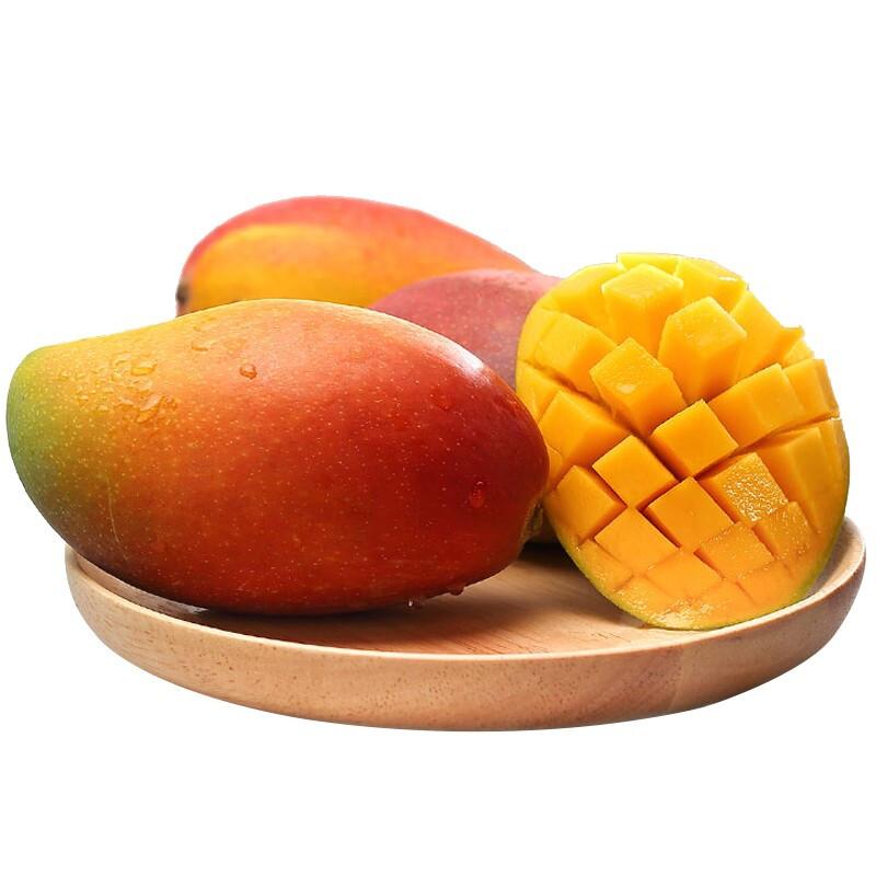 海南贵妃芒带箱芒果新鲜水果应当季热带特产红金龙甜心芒整箱