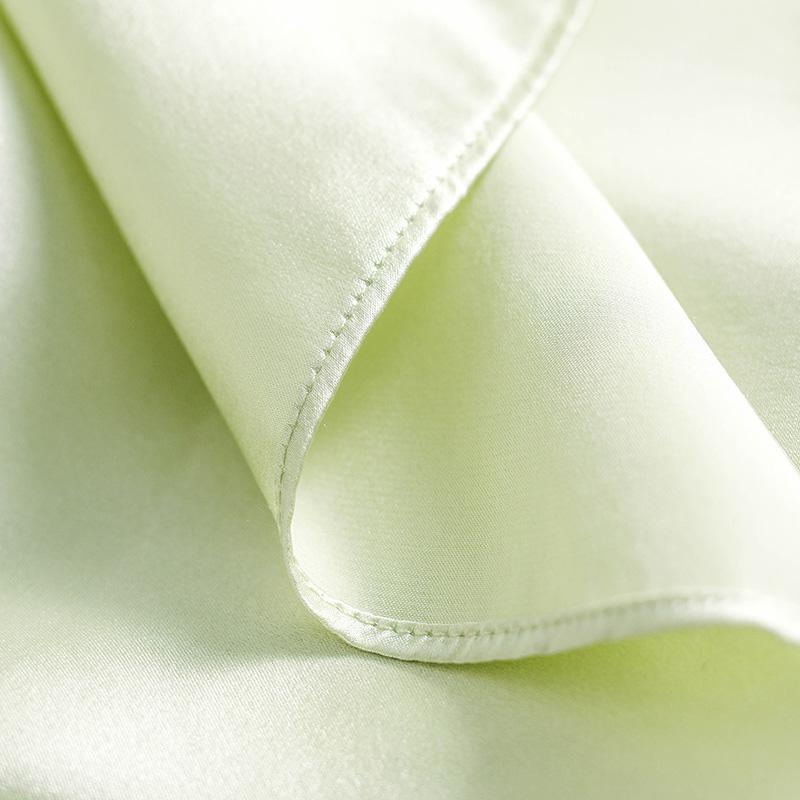 美标真丝睡衣女夏季100%桑蚕丝吊带睡裙丝绸性感蕾丝薄款家居服春