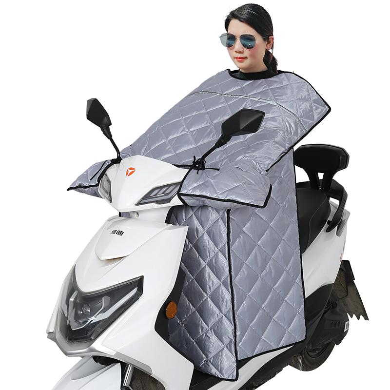 电动车防晒罩挡风被夏季薄款遮阳防风防水春秋电瓶摩托车三季通用