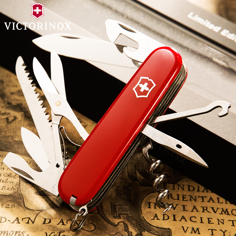 Victorinox维氏瑞士军士刀猎人户外多用组合小刀折叠随身