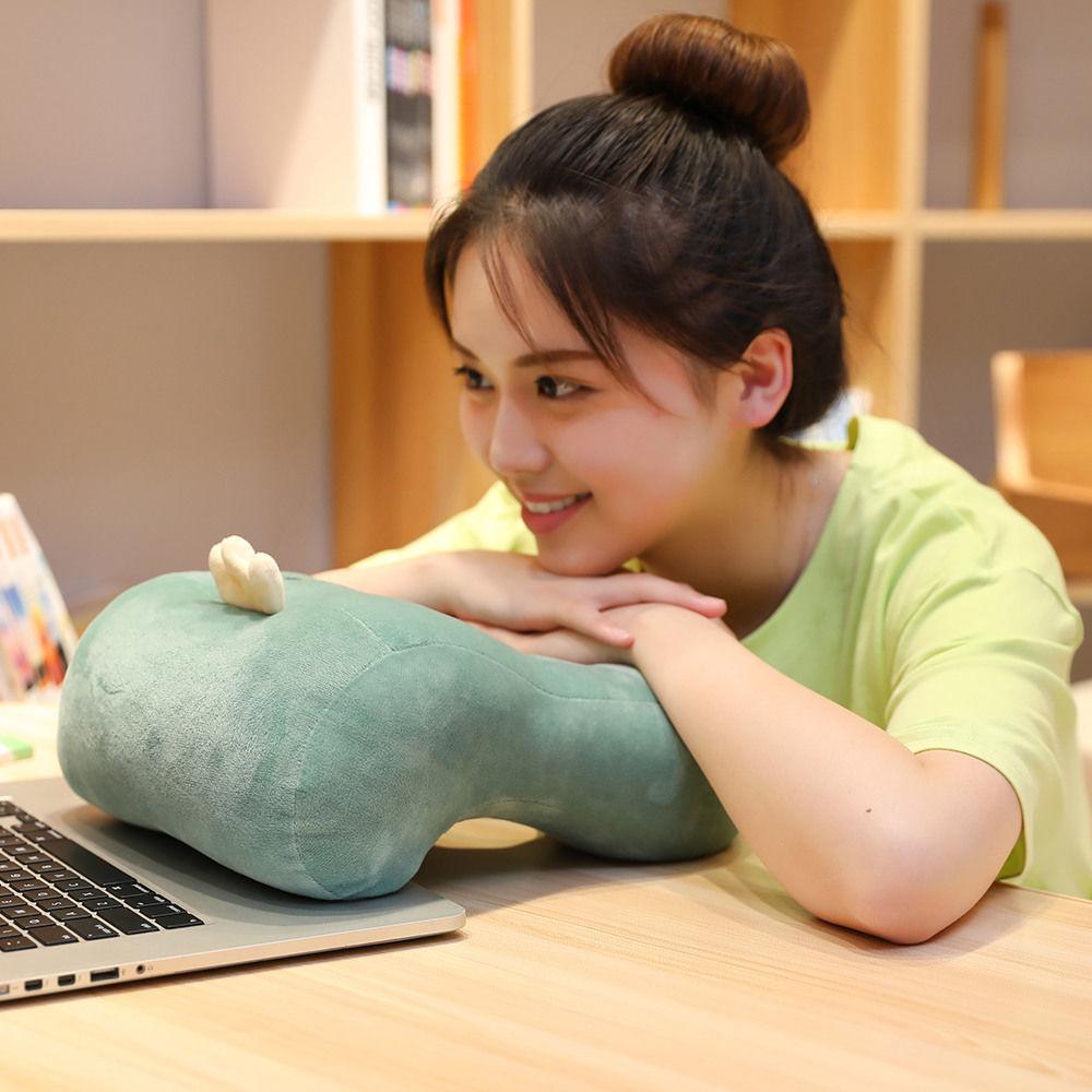 午睡枕头趴睡枕学生趴趴枕可爱透气办公室抱枕靠垫趴桌上午休抱枕