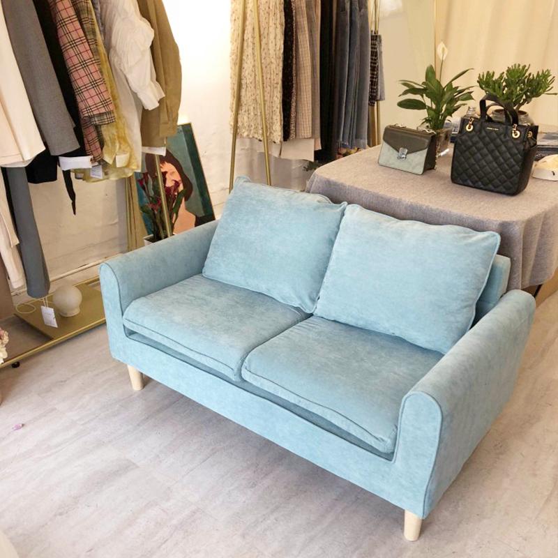 简易出租房两人小沙发