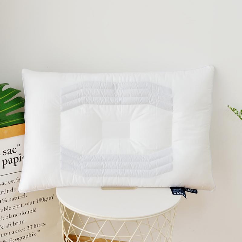 洁梦雅决明子枕芯单人学生儿童枕头48 74cm单只护颈枕 一只装